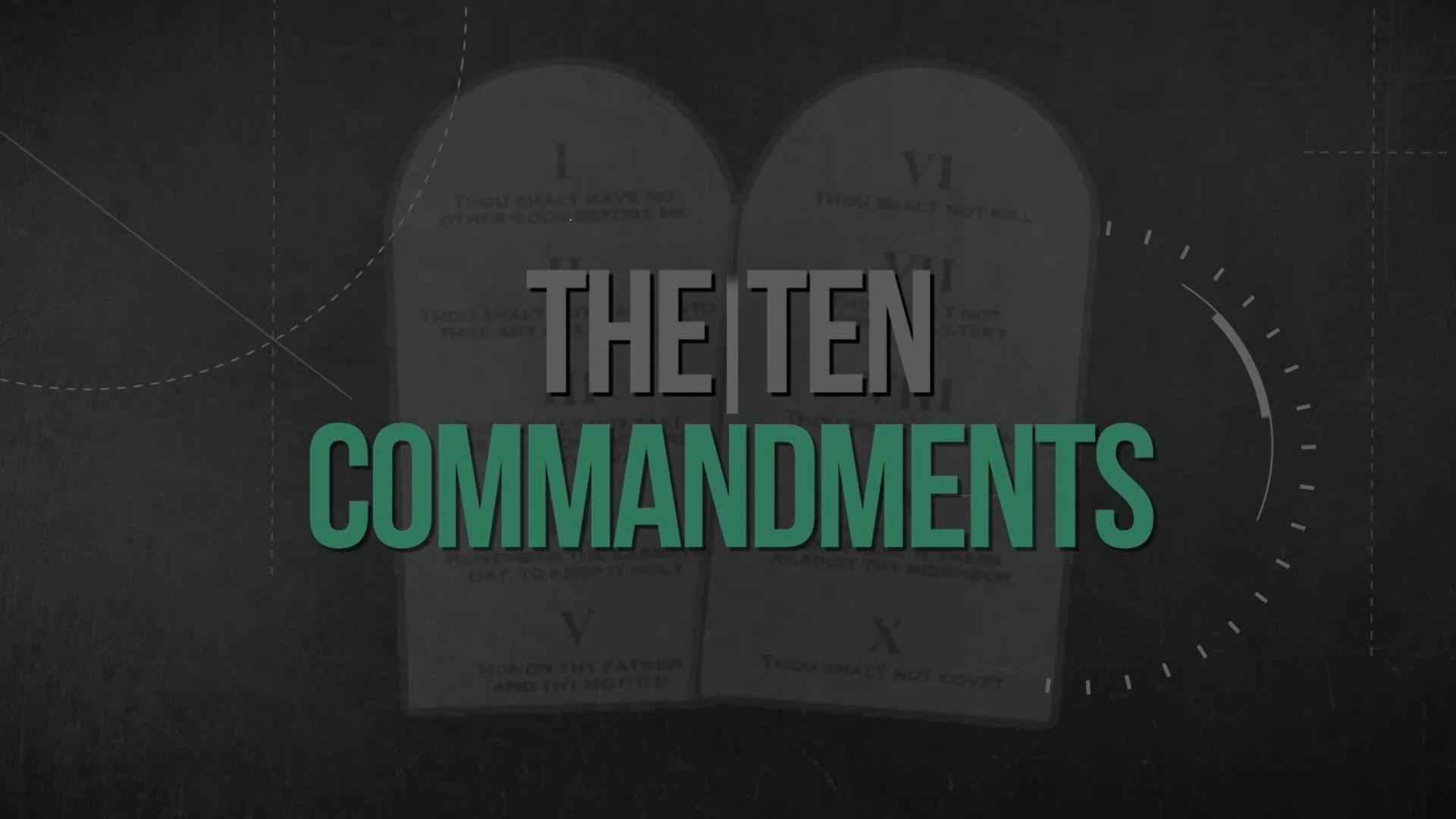 Commandment One: No other 'gods'